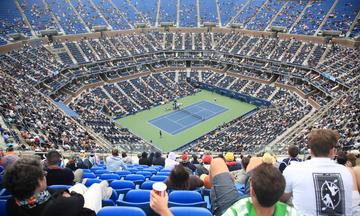 Νέα ποσά ρεκόρ στο τουρνουά τένις «US Open»
