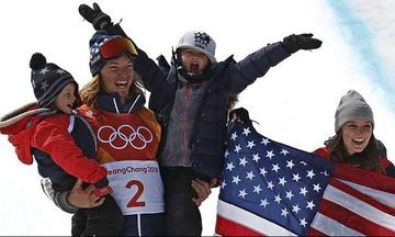 Ξανά «χρυσός» ο Ντέιβιντ Ουάιζ στο ski halfpipe