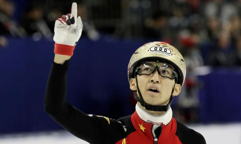 «Χρυσός» ο Κινέζος Βου στα 500μ. με παγκόσμιο ρεκόρ