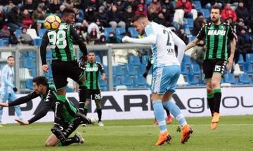 Σούπερ Λάτσιο στην έδρα της Σασουόλο - Όλα τα αποτελέσματα της Serie A