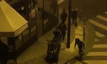 Σύγκρουση αστυνομίας - χούλιγκανς έξω από το ξενοδοχείο της Ρεάλ στο Παρίσι! (vid)