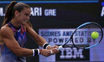 Νίκη της Σάκκαρη στον 1ο γύρο του Indian Wells