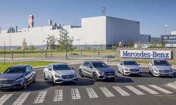 Η Mercedes-Benz στην έκθεση αυτοκινήτου της Θεσσαλονίκης