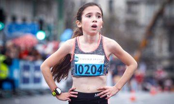 «Χάθηκε» η 12χρονη που τερμάτισε 3η στον Ημιμαραθώνιο