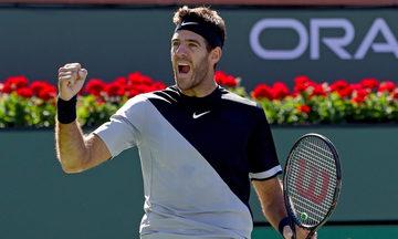 Ντελ Πότρο: «Ήμουν πολύ κοντά στο να σταματήσω το τένις»