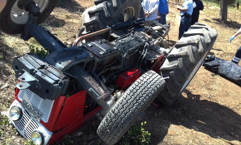 Τραγικός θάνατος αγρότη: Καταπλακώθηκε από το τρακτέρ του