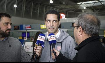 """Σφαιρόπουλος: """"Πάμε για να παλέψουμε"""""""