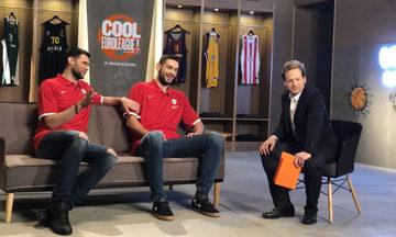 "To τρέιλερ για το ""Cool EuroLeague""  με Παπανικολάου, Παπαπέτρου (vid)"
