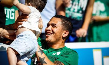 O Λουτσιάνο αγωνίστηκε 45 λεπτά στο φιλικό με τη Σπάρτη (1-0)