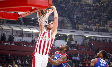 EuroLeague: Το τρομερό κάρφωμα του Μιλουτίνοφ στο TOP 10! (vid)