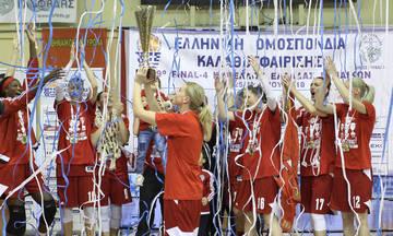 ΚΑΕ Ολυμπιακός: Συγχαρητήρια στα κορίτσια μας για το τρίτο σερί Κύπελλο