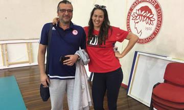 """Άνα Λαζάρεβιτς: """"O Ολυμπιακός θα   κατακτήσει το Ευρωπαϊκό"""" (vid)"""