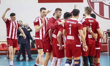 LIVE: Φοίνικας Σύρου - Ολυμπιακός 0-3 σετ