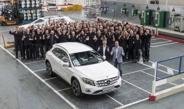 Νέο εργοστάσιο για την Mercedes-Benz GLA