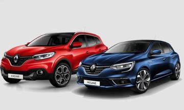 Νέο χρηματοδοτικό για τα Renault Megane και Kadjar