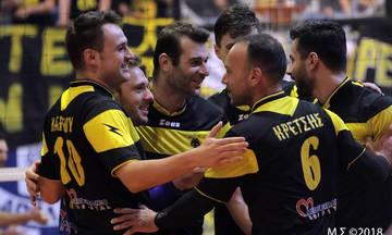Η ΑΕΚ επέστρεψε στη Volleyleague