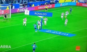 Δείτε το και ξαναδείτε το. Ο Ρονάλντο πηδά στα 2.23 μ. και βάζει τη γκολάρα (vid)