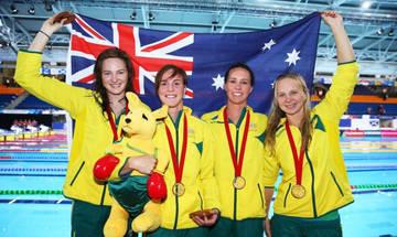 Παγκόσμιο ρεκόρ οι Αυστραλές στα 4Χ100 μ. ελεύθερο