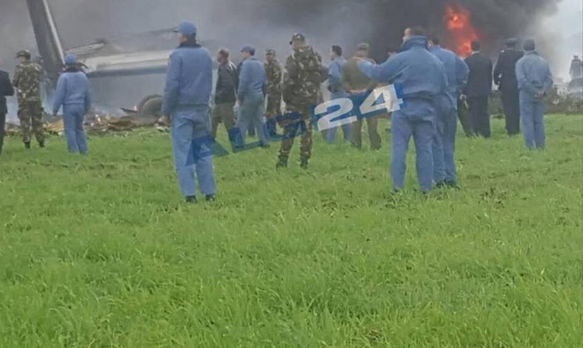 Στρατιωτικό αεροσκάφος συνετρίβη στην Αλγερία - Φόβοι για πολλούς νεκρούς
