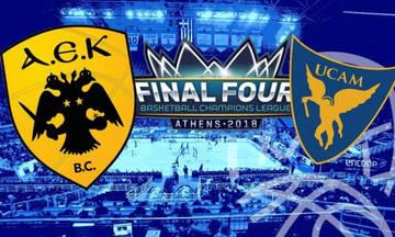Αυτή είναι η αντίπαλος της ΑΕΚ στο Basket Champions League