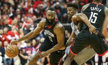 NBA: Μπορούν και χωρίς Χάρντεν οι Ρόκετς (vid)