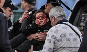 Επεισόδια, συλλήψεις και τραυματισμοί στη Σόφια (vid)