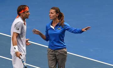 Η πιο αναπάντεχη ερώτηση που έγινε ποτέ σε διαιτητή τένις έτυχε σε Ελληνίδα (vid)