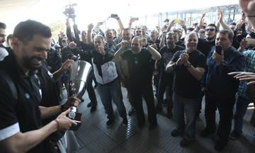 Υποδοχή των Κυπελλούχων στη Θεσσαλονίκη