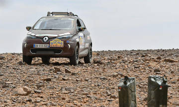 To Renault ZOE κατακτά και την έρημο Σαχάρα