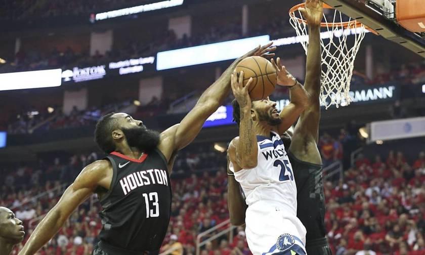 NBA: Εύκολα το 4-1 και πρόκριση για τους Ρόκετς (vid)