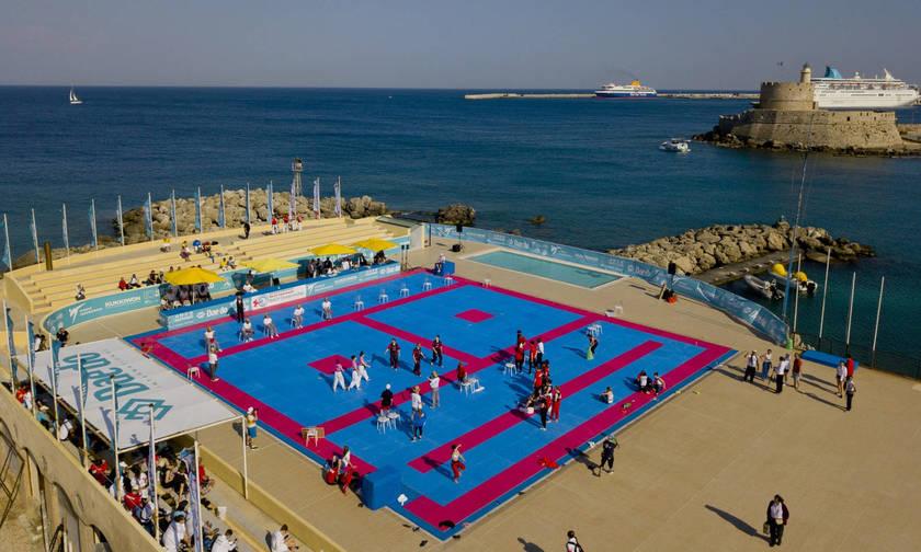 Εντυπωσιακό ξεκίνημα για το Παγκόσμιο Πρωτάθλημα Τaekwondo Παραλίας στη Ρόδο