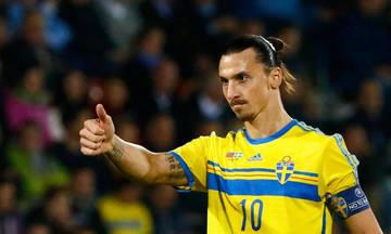 Επίσημο: Δεν πάει Μουντιάλ με τη Σουηδία ο Ζλάταν