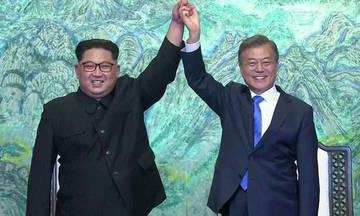 Ιστορική συμφωνία Βόρειας και Νότιας Κορέας (vid)