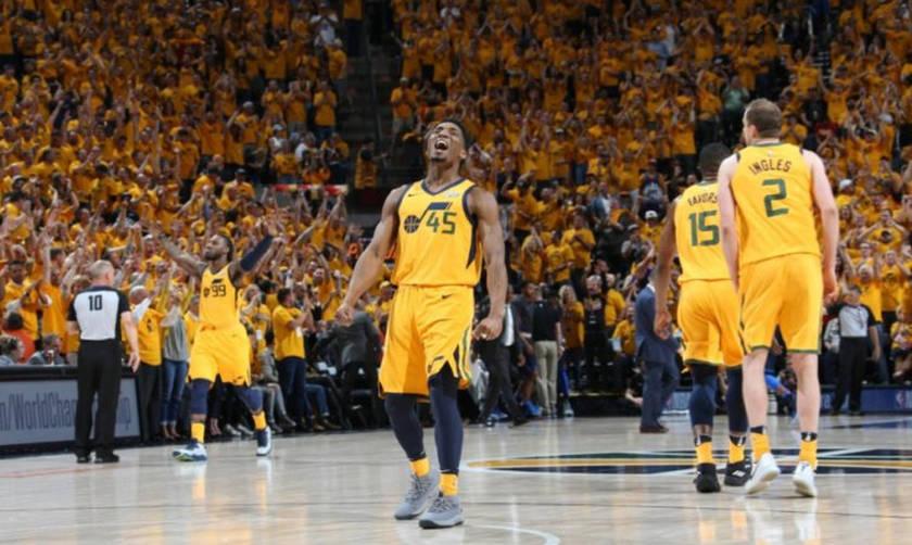NBA: Πρόκριση για τους Τζαζ (vid)