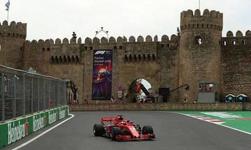 Στον Φέτελ η pole position του GP του Αζερμπαϊτζάν
