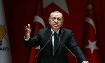 """Ερντογάν: """"Τη Σμύρνη την έκαψαν οι Έλληνες"""""""