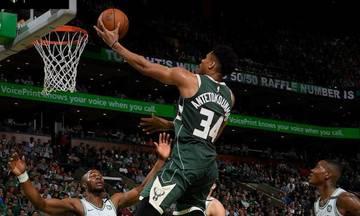 NBA: Ο Γιάννης «λύγισε», οι Σέλτικς προκρίθηκαν (vid)