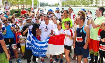 Nο Finish Line: Ρεκόρ με 95.295 χλμ. - Νικητής ιερέας που έκανε 430 χλμ. τρέχοντας με ράσα!
