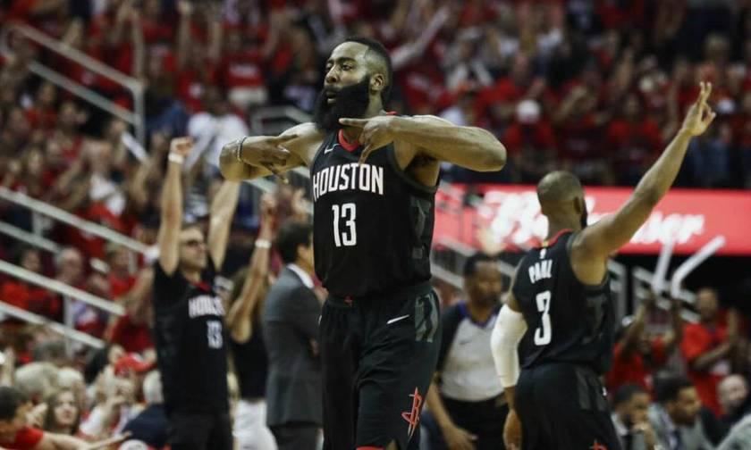 NBA: Πάρτι του Χάρντεν, νίκη των Ρόκετς (vid)