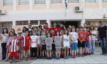 Δωρεά της ΠΑΕ Ολυμπιακός σε σχολείο στο Κερατσίνι