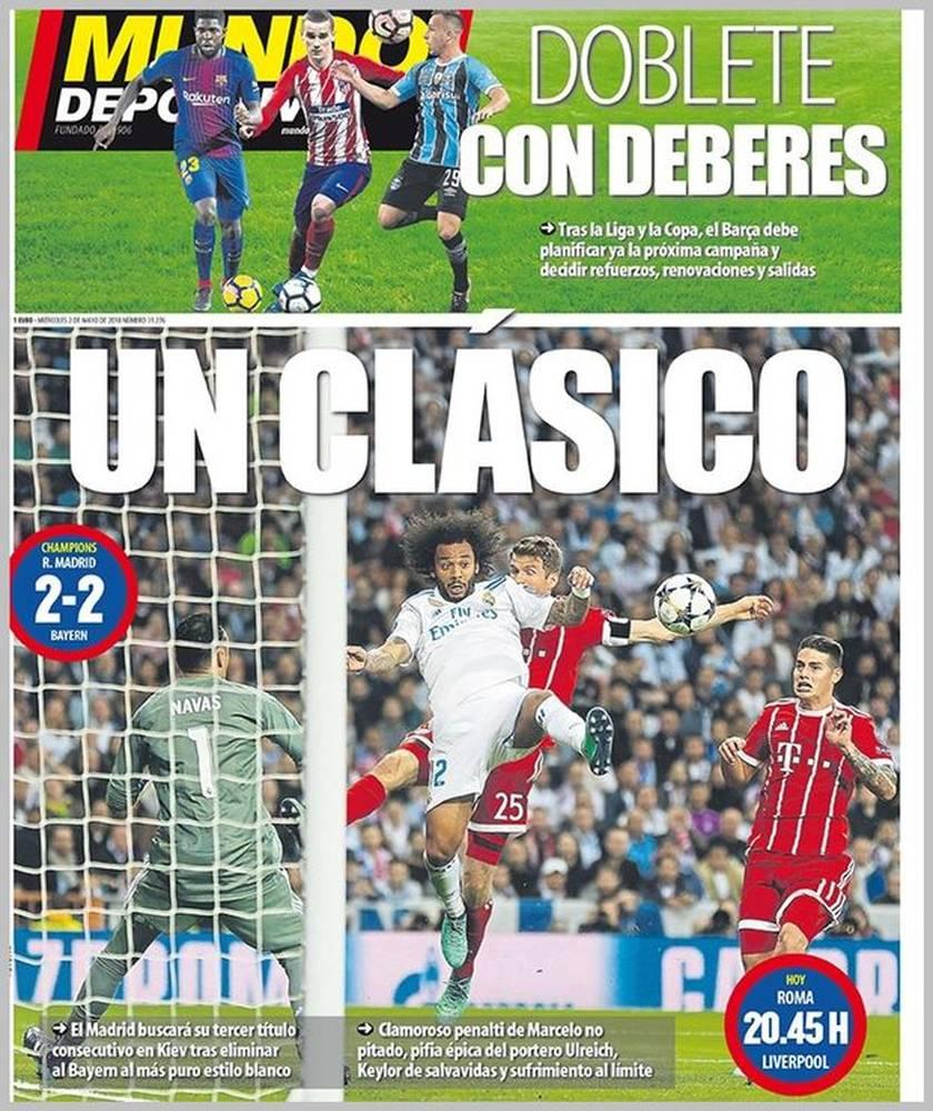 Mundo Deportivo: «Κλασικό»