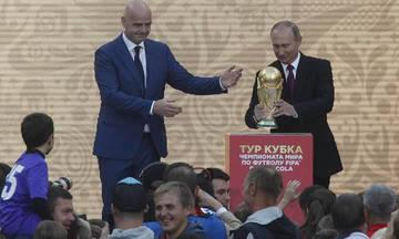Έδωσε το οκ για το Μουντιάλ ο Ιφαντίνο στον Πούτιν