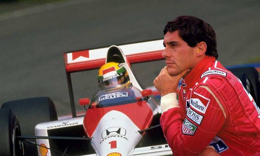 Πέντε συνεχόμενες νίκες για τον Ayrton Senna