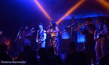The Moka Band live στο Passport Κεραμεικός