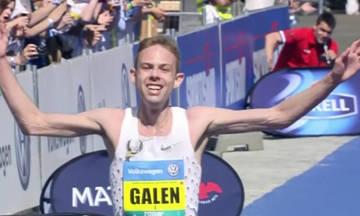 Ο Αμερικανός Galen Rupp μεγάλος νικητής του Μαραθωνίου της Πράγας