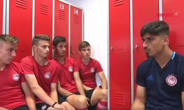 Ο Νικολάου συμβουλεύει τους έφηβους του Ολυμπιακού (vid)