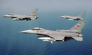 Οι Τούρκοι παραβίασαν 31 φορές τον εθνικό εναέριο χώρο