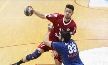 Ο Ολυμπιακός θα αντιμετωπίσει την ΑΕΚ στον τελικό του χάντμπολ
