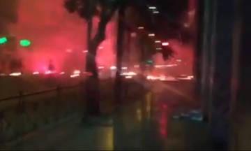 Εκτεταμένα επεισόδια στο κέντρο της Αθήνας (vid)