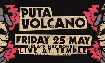 Puta Volcano και Black Hat Bones live στο Temple